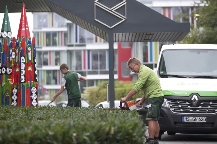 Grünflächenpflege Unternehmen Münster GUW