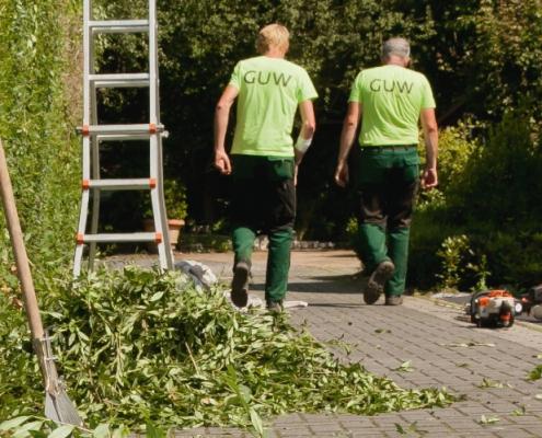 Ganzjährige Gartenpflege in Münster