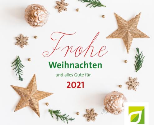 Die GUW in Münster wünscht allen Frohe Weihnachten und alles Gute für das JAhr 2021!